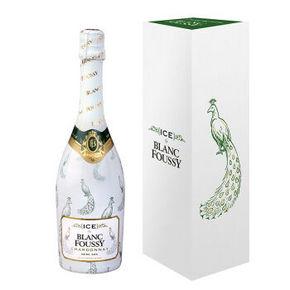 微信端# 法国进口 冰雀半干高泡葡萄酒 礼盒装 750ml 49元