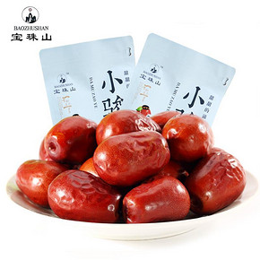宝珠山 红枣258g*2袋 9.9元包邮