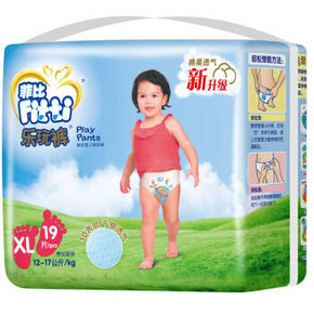菲比 乐玩裤 加大号XL19片 16.9元
