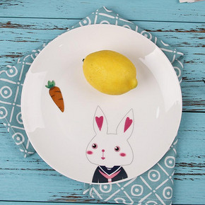 东荣陶瓷 家用创意陶瓷餐盘 5.9元包邮