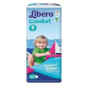 Libero 丽贝乐 comfort 婴儿纸尿裤 M60片 折59.5元(119,下单5折)