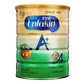 美赞臣 安儿健A+儿童配方奶粉 4段 900g*2罐 249.9元包邮(294-44.1)