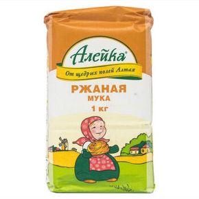 艾利客 黑麦面粉 1kg 折9.9元(19.8,买1送1)