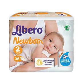 瑞典进口 丽贝乐 婴儿纸尿裤 NB36片 折29.5元(59,5折)