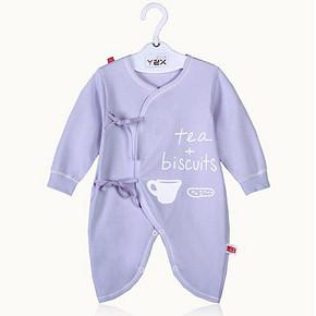 婴之选 纯棉婴儿连体衣 券后14.9元包邮