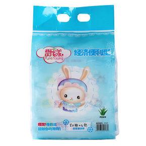 飘漾 婴儿柔湿巾80片 经济便利型80片*4包 20元(可99-50)