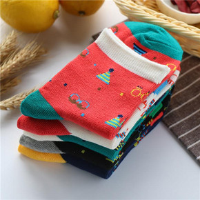 Slie 加厚时尚袜 5双 9.9元包邮