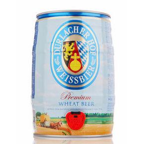 德国进口 Durlacher 德拉克 小麦啤酒 5L桶装 69元(99-30)