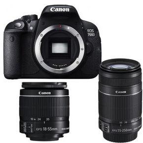Canon 佳能 EOS 700D单反双头套机 4599元包邮
