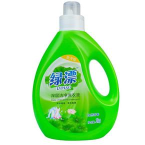 绿漂 深层洁净洗衣液 自然清香 2kg 9.9元