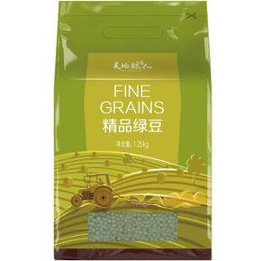 天地粮人 精品 绿豆 1250g 23.9元