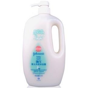 强生 婴儿牛奶沐浴露 1L 19.9元