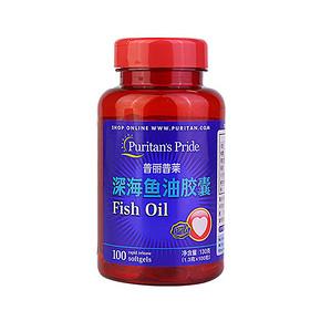 普丽普莱 欧米伽3深海鱼油软胶囊 100粒 36元包邮(136-100券)