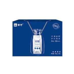 蒙牛 纯甄常温酸牛奶 200g*6盒 折26.4元(33,2件8折)