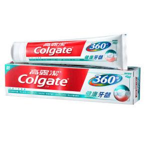Colgate 高露洁 360°全面口腔健康牙膏 200g 折9.9元(19.9,买2免1)