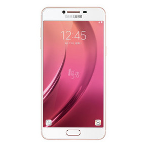 三星 Galaxy C5 4G手机 双卡双待 蔷薇粉 32G 1949元包邮(2049-100)