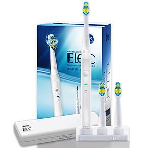 力博得 Elec系列电动牙刷 干电池型 含3支电动刷头 59元包邮(118-59)