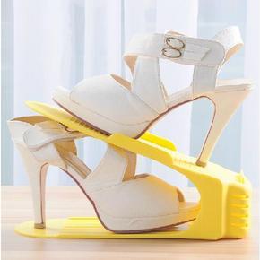 加厚创意一体式鞋架 1.9元包邮