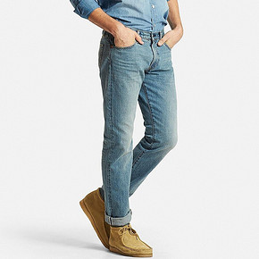 UNIQLO 优衣库 173890 直筒牛仔裤 99元