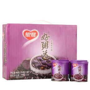 银鹭 八宝粥 好粥道 紫薯紫米 200g*12罐  29.9元