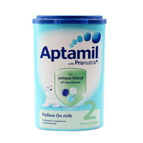 Aptamil 爱他美 Pronutra 婴儿奶粉 2段 900g 62元(3罐包邮)