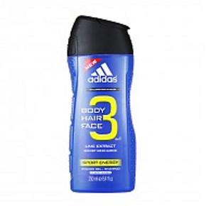 Adidas 阿迪达斯 男士3合1沐浴露 250ml*2瓶 39元