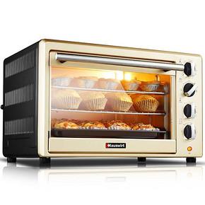 Hauswirt 海氏 家用多功能大容量电烤箱40L 299元包邮
