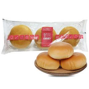 乐锦记面包 红豆味餐包 108g 折2.1元(5件5折)