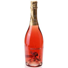 西班牙进口葡萄酒 彩蝶桃红起泡葡萄酒750ml 19.9元