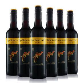 黄尾袋鼠西拉红葡萄酒750mlx6瓶装 256元