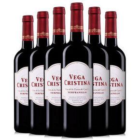 西班牙 维伽·科丽斯纳红葡萄酒 750ml*6瓶 89元
