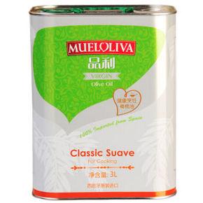 西班牙进口 品利中级初榨橄榄油 3Lx2件 188元