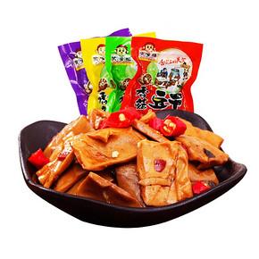 偷嘴猴 重庆特产香菇豆干500g 8.8元包邮