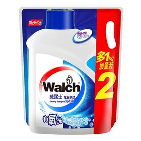 威露士 有氧洗炫白多效洗衣液2kg 折9.5元(18.9,下单5折)