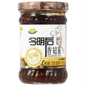 今明后 香菇酱原味 210g 6.5元