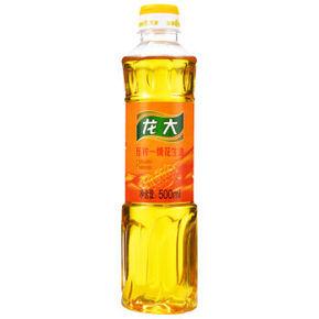 龙大 压榨一级 花生油 500ml 9.9元