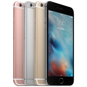 Apple iPhone 6s plus  16G 玫瑰金色 4G手机  4488元