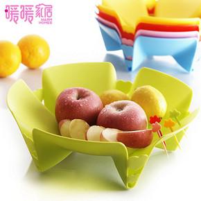 创意爱心水果盆 2只 9.8元包邮