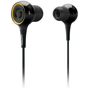 飞利浦 SHE6000 虚拟环绕立体声耳塞 黑色 54元