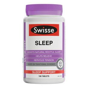 Swisse 睡眠改善片 100片*3件 222.7元包邮(504-305+23.7)