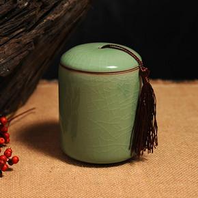 精龙 龙泉青瓷茶叶罐 拍下7.5元包邮