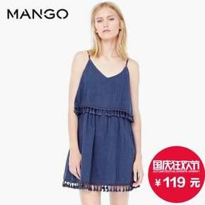 MANGO 双层连身裙 119元包邮