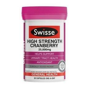 Swisse 高含量蔓越莓颗粒 30粒 89元
