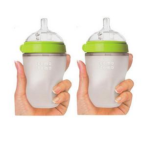 可么多么 奶瓶 绿色8 Ounces  250mlx2只装 158元