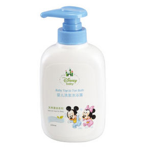 迪士尼宝宝 婴儿二合一洗发沐浴露 330ml*3件 69.7元(119.7-50)