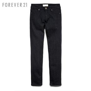 GIRLS必备# Forever 21 女童小脚牛仔长裤 30.5元