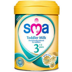 惠氏 SMA 金装版婴幼儿配方奶粉 3段 900g*2件 210.4元包邮(376-188+22.4)