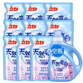 立白 洗衣液 500g*12袋 + 赠保宁香皂200g*3块 45.9元