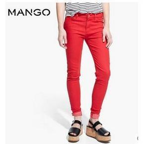 提前购物车# MANGO Paty 紧身牛仔裤 3色可选 39元包邮