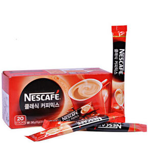 Nestlé 雀巢 经典三合一速溶咖啡 20条*12g 折9.9元